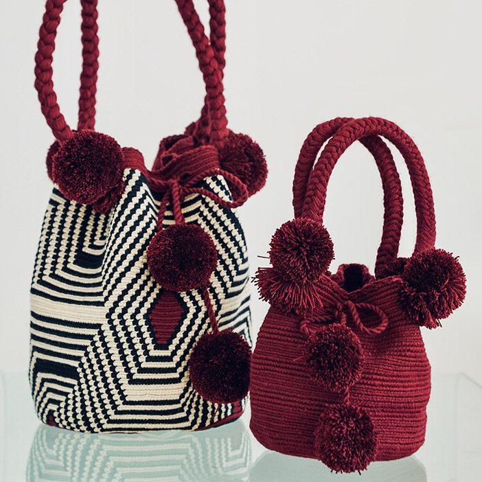 Pompoms Bag